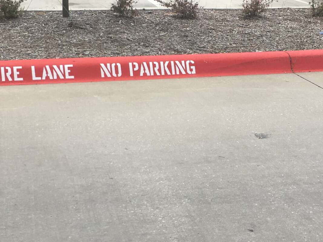 Indianapolis Parking Lot and Fire Lane Striping
